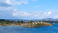 Cottages on islands in the Oslofjord
