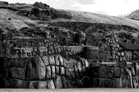 Stone terraces of Sacsayhuaman, Cusco